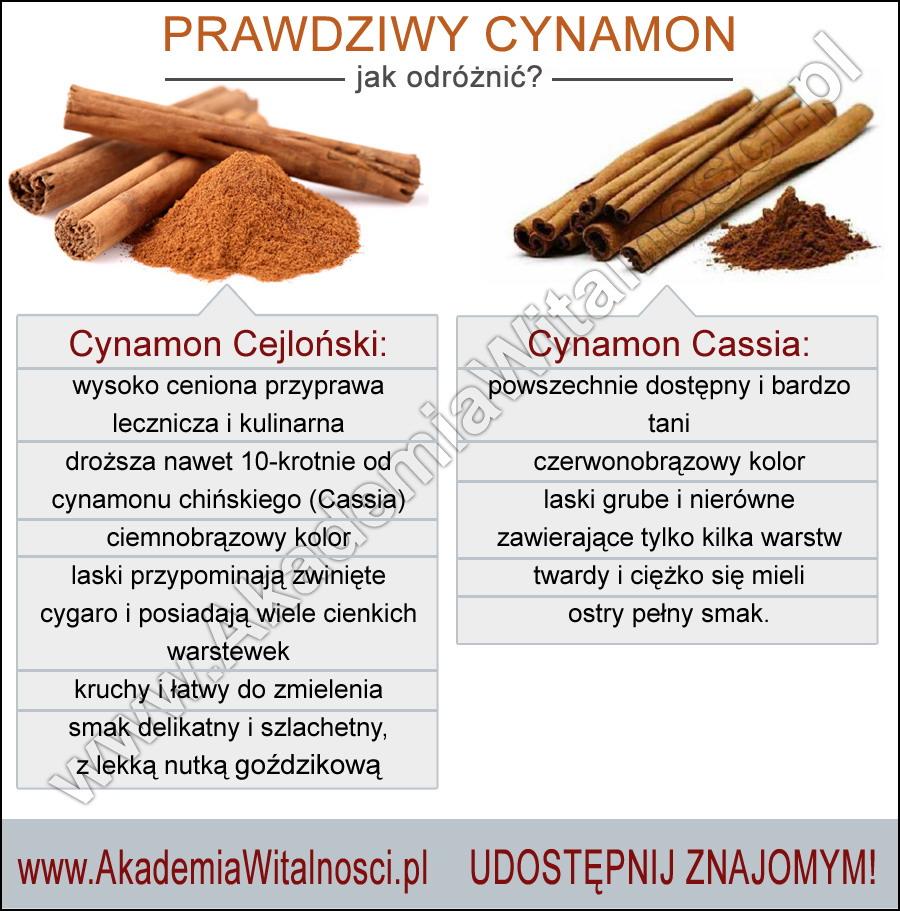 prawdziwy cynamon
