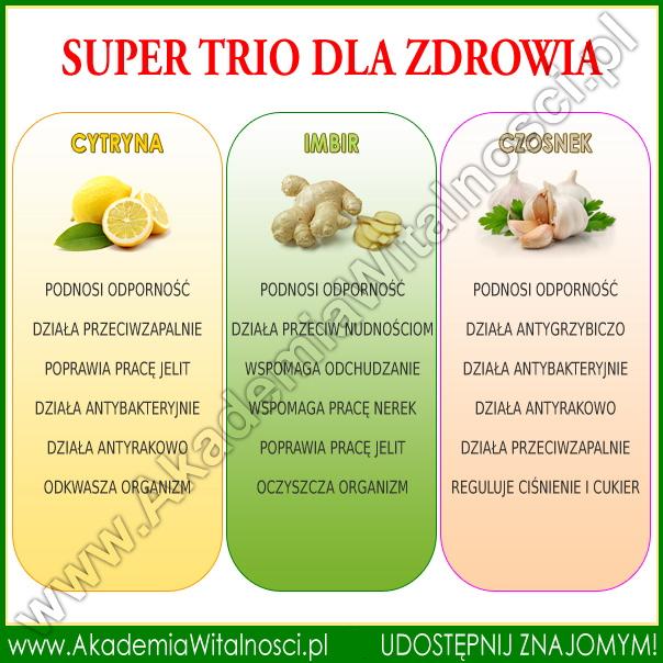 uzdrawiające trio