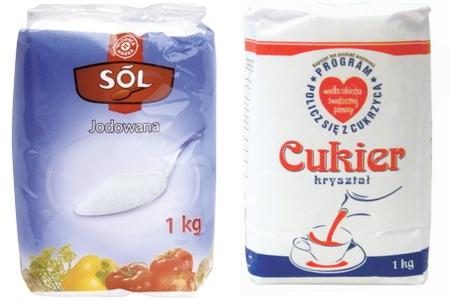 sól i cukier
