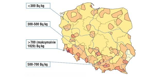 radon w polsce