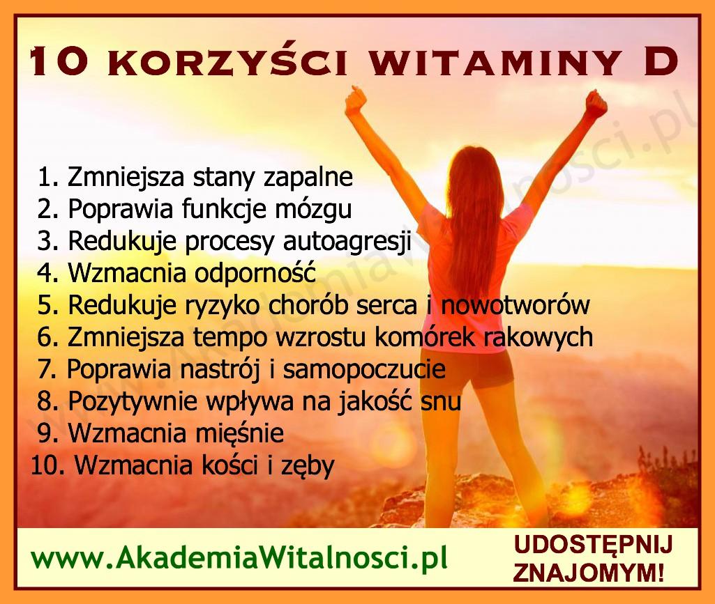 korzyści z witaminy D