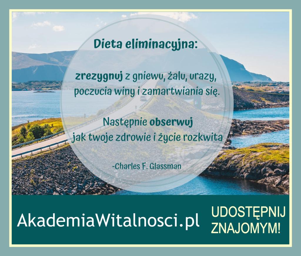 dieta eliminacyjna dla umysłu i ducha